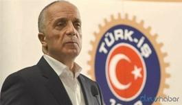 Türk-İş Başkanı Ergun Atalay: 39 TL çaya yetmez