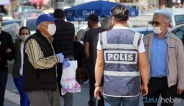18 kişide virüs tespit edilen kentte maske zorunluluğu getirildi