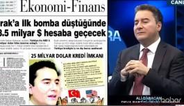 Babacan 'bomba' manşeti hakkında yıllar sonra konuştu