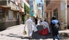 Bağlar'da 18 kişide virüs tespit edildi: 3 sokak karantinaya alındı
