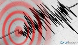 Datça'da 5.1 büyüklüğünde deprem