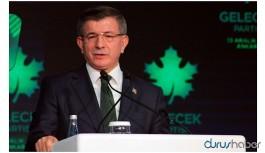 Davutoğlu'ndan hükümete sert eleştiri: Böyle salgının önü alınamaz