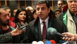 """Demirtaş'tan """"savunma yürüyüşü"""" açıklaması"""