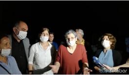 DTK Eşbaşkanı Leyla Güven tahliye edildi
