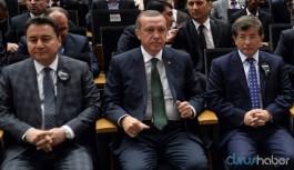 Erdoğan'dan AKP'li parti yöneticilerine Davutoğlu ve Babacan talimatı