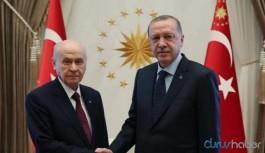 Erdoğan ile Bahçeli bir araya geldi