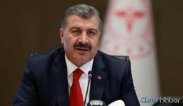 Sağlık Bakanı Koca'dan artan vaka sayılarına ilişkin açıklama