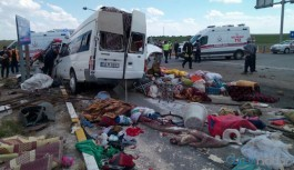 Feci kaza: 6 tarım işçisi yaşamını yitirdi, çok sayıda yaralı var