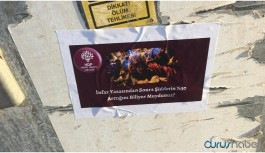Genç kadınlar şiddet ve istismara karşı sokakta