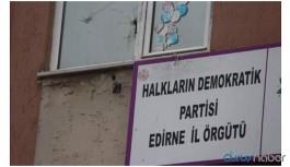 HDP Edirne İl binası ablukaya alındı