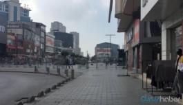 HDP etkinliği öncesi Esenyurt meydanı bariyerlerle kapatıldı