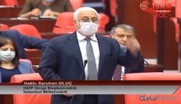 HDP'li Oluç: Darbecisiniz ve tarihe sivil darbeciler olarak geçeceksiniz