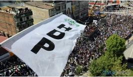 HDP yürüyüşüne engel girişimlerine tepki