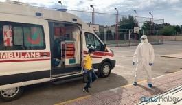 LGS sınavı sona erdi: Korona tedavisi gören öğrenciler sınava ambulansla götürüldü