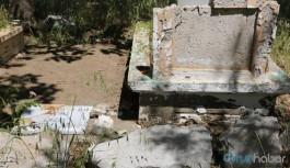 Lice'de operasyona çıkan askerler mezarlık tahrip etti
