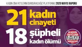 Mayıs ayı raporu: 21 kadın katledildi
