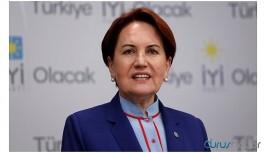 İYİ Parti lideri Akşener: Tarihe not düşüyorum, Erdoğan...