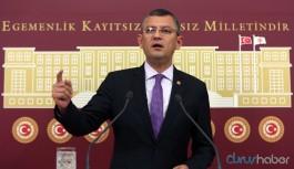 CHP'li Özel'den HDP'ye destek