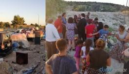 Roman çadırlarının yıkılmasına ilişkin rapor:  En ağır insani dramlardan biri