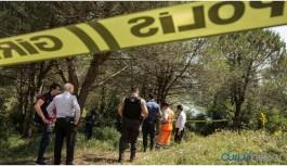 Ormanda erkek cesedi bulundu
