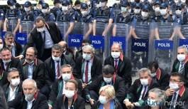 Tehdit edilen Antep Barosu Başkanı: Emniyet amirleri provokasyon için ellerinden geleni yapıyor