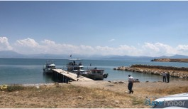 Van Gölü'nde mültecileri taşıyan tekne battı