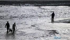 100'e yakın koyun sel sularına kapılarak telef oldu