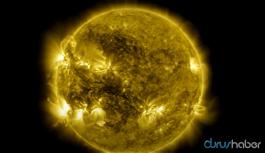NASA, 425 milyon fotoğrafla Güneş'in 10 yılını görüntüledi