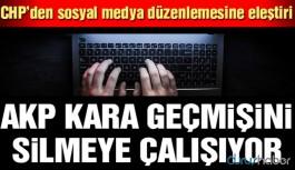 'AKP kara geçmişini silmeye çalışıyor'