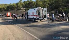 Askerleri taşıyan otobüs devrildi: Çok sayıda ölü ve yaralı var
