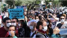 Avukatlar yürüyüşe geçti