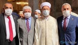 'Ayasofya'nın açılışına katılan AKP'li vekil koronavirüse yakalandı' iddiası