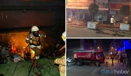 İstanbul'da çok sayıda işyerinde yangın çıktı