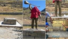 Düzgün Baba Cemevi: Gültekin heykeli Nazımiye'de dikilecek