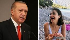 Erdoğan'dan Pınar Gültekin paylaşımı