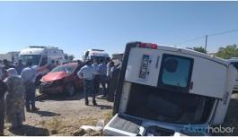 Feci kaza: 3'ü ağır 12 yaralı