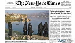 Hasankeyf New York Times'ın manşetinde