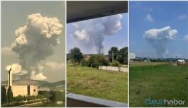 Havai fişek fabrikasındaki patlama ile ilgili flaş uyarı