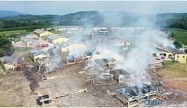 Havai fişek fabrikasındaki patlamada sabotaj izine rastlanmadı