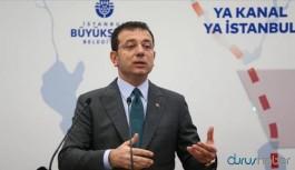 İBB Başkanı İmamoğlu'ndan Kanal İstanbul açıklaması