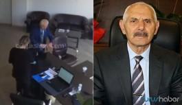 MHP'den ihraç edilen belediye başkanı Erdoğan'ın fotoğrafını yırttı