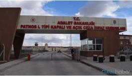 Patnos Cezaevi'nde suda kurt çıkıyor