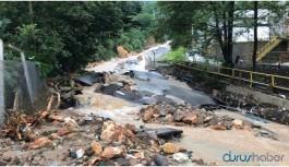 Rize'de sel felaketi: 2 kişi yaşamını yitirdi