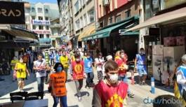 Suruç için bildiri dağıtanlara polis müdahalesi: Çok sayıda gözaltı