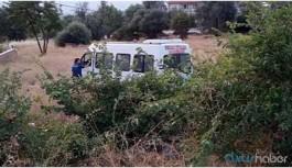 Tarım işçilerini taşıyan minibüs devrildi: 18 yaralı