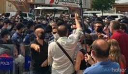Ulucanlar Cezaevi'nde açıklama yapmak isteyen HDP'lilere polis müdahalesi