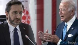 AKP'li eski vekilden 'Biden krizi' yorumu: Bu bir Fahrettin Altun prodüksiyonudur