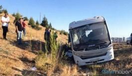 Yolcu otobüsü ASELSAN çalışanlarını taşıyan servise çarptı: Ölü ve yaralılar var