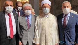 Ayasofya'da Erbaş ile fotoğraf çektiren 3 AKP'li vekil koronavirüse yakalandı