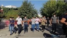 Kentte halk tecavüze karşı yürüyüşe geçti
